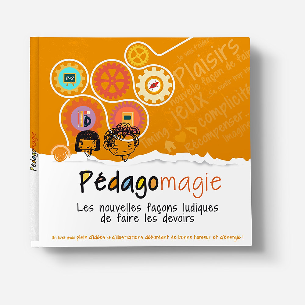 Pédagomagie Book Print Design