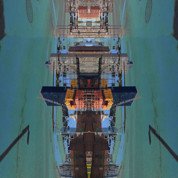 A reflected city