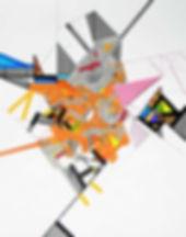 Art on paper Ossoryi 6 by Philippe Halaburda