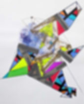Art on paper Propiion 9 by Philippe Halaburda