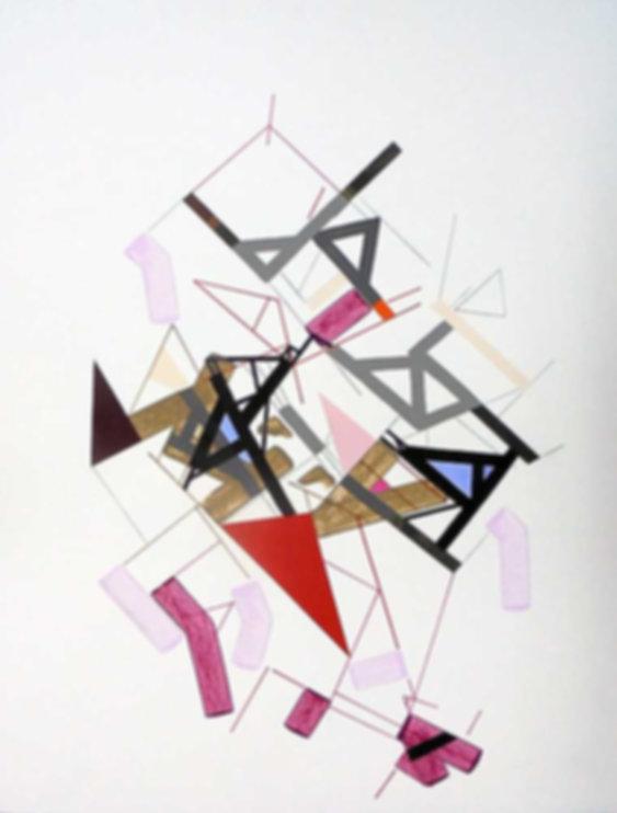 Art on paper Kowwy Ammaruu 2 by Philippe Halaburda