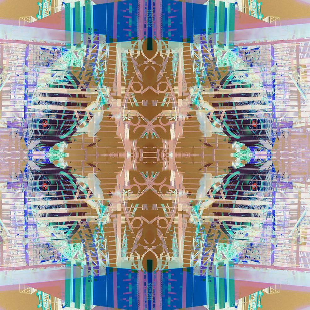 Digital art based on iPhone photos & original paintings by Halaburda