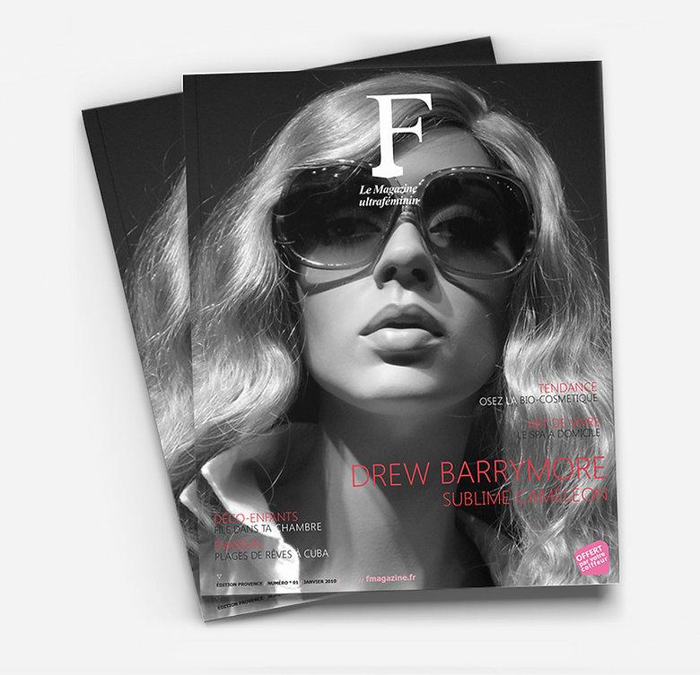 F magazine Print Design