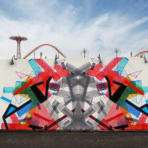 Outdoor mural, NY (project)