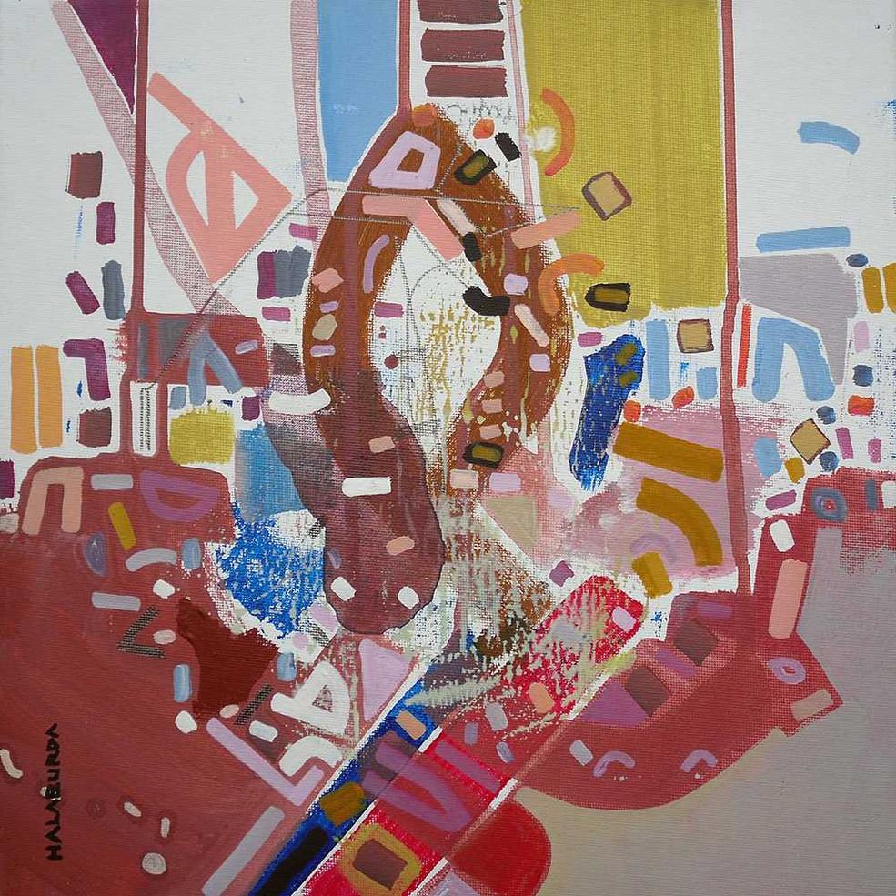 Abstract patterns oncanvas by Halaburda