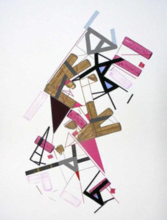 Art on paper Kowwy Ammaruu 1 by Philippe Halaburda