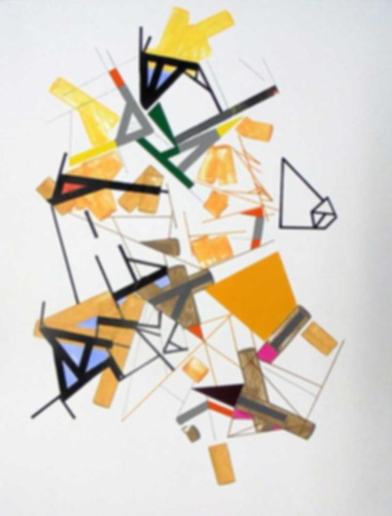Art on paper Kowwy Ammaruu 3 by Philippe Halaburda