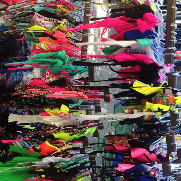 Flea market display