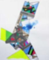 Art on paper Propiion 11 by Philippe Halaburda