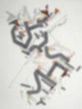 Art on paper Bellegostt 4 by Philippe Halaburda