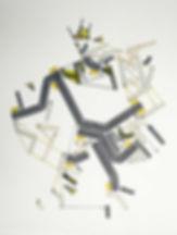 Art on paper Bellegostt 6 by Philippe Halaburda