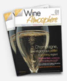Wine Atmosphere magazine Print Design