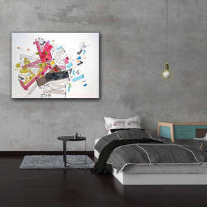 Interior art design for room