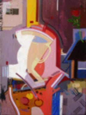 Figurative canvas by Halaburda - 1998