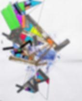 Art on paper Propiion 7 by Philippe Halaburda