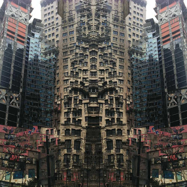 A unique urban morphology