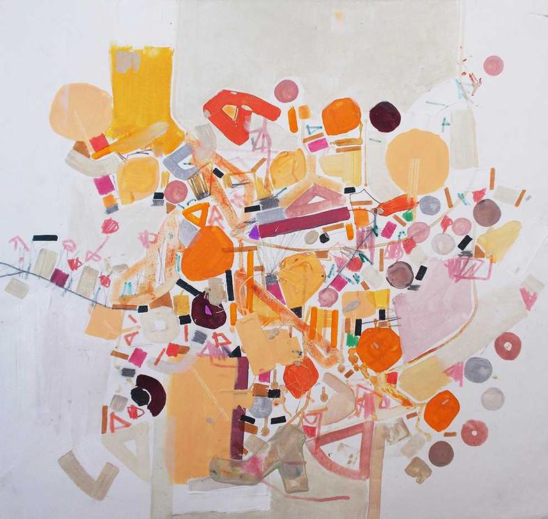 Abstract relations oncanvas by Halaburda