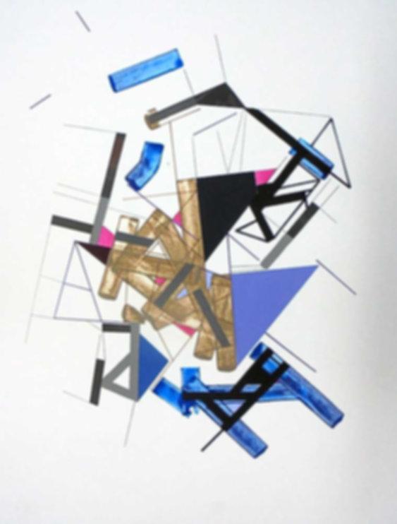 Art on paper Kowwy Ammaruu 8 by Philippe Halaburda