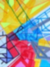 NY maps on paper by Philippe Halaburda, multidisciplinary artist, USA