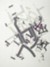 Art on paper Bellegostt 9 by Philippe Halaburda