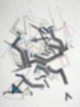 Art on paper Bellegostt 2 by Philippe Halaburda