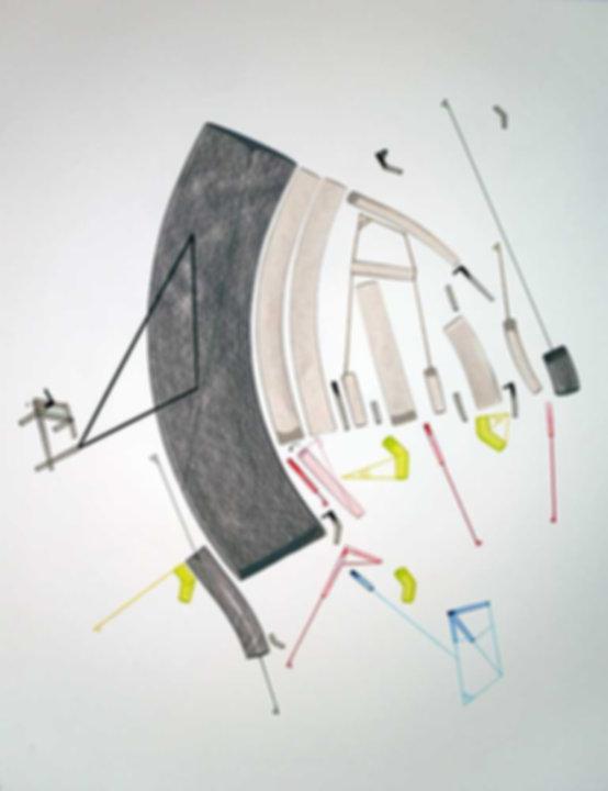 Art on paper Caniis Miror Cassiiop D by Philippe Halaburda