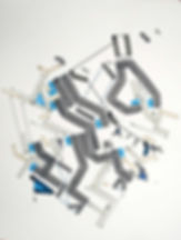 Art on paper Bellegostt 10 by Philippe Halaburda