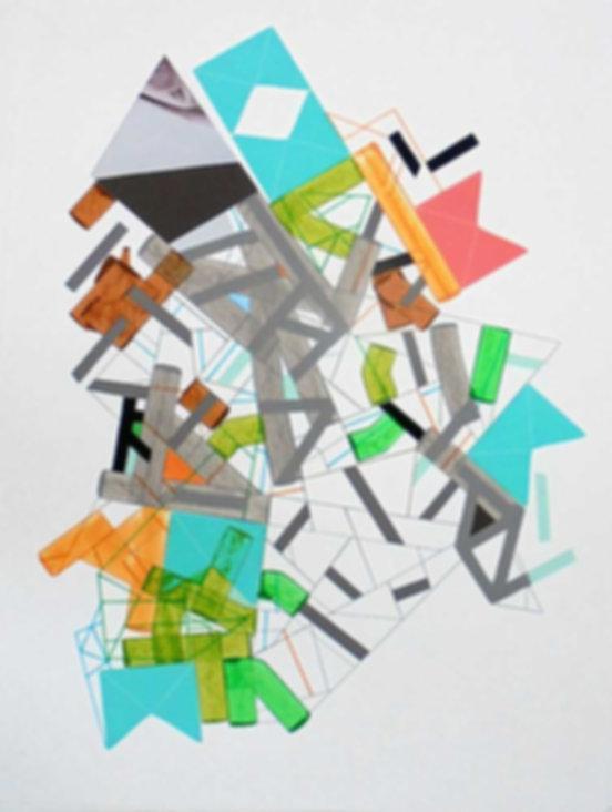 Art on paper Siimonttonn 1 by Philippe Halaburda