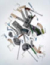 Art on paper Stuyyvesaan by Philippe Halaburda