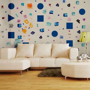 Indoor wallpaper for living room