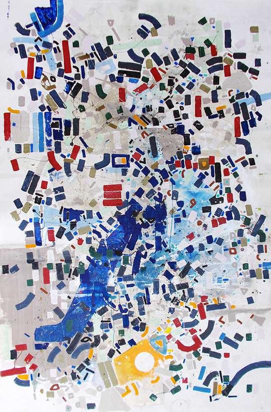 Abstract life choicesoncanvas by Halaburda