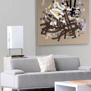 Interior art design for hotel