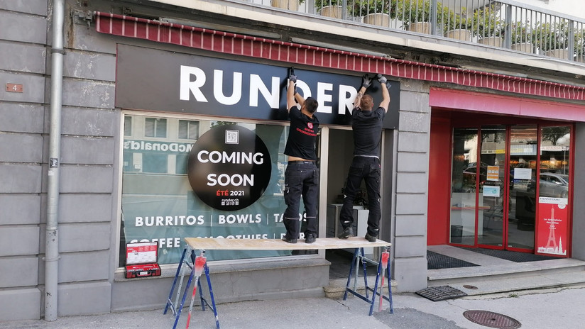 RUNDER Store Sion