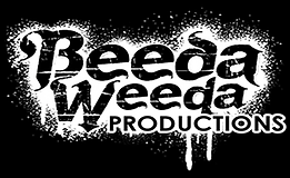 Beeda productions Logo 1 White.png