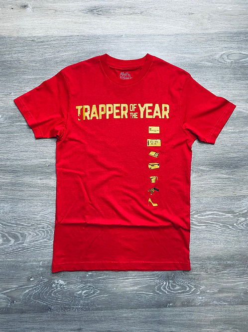 Unisex Trapper of The Year Red Tee