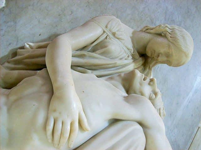Shelley memorial at Christchurch Priory