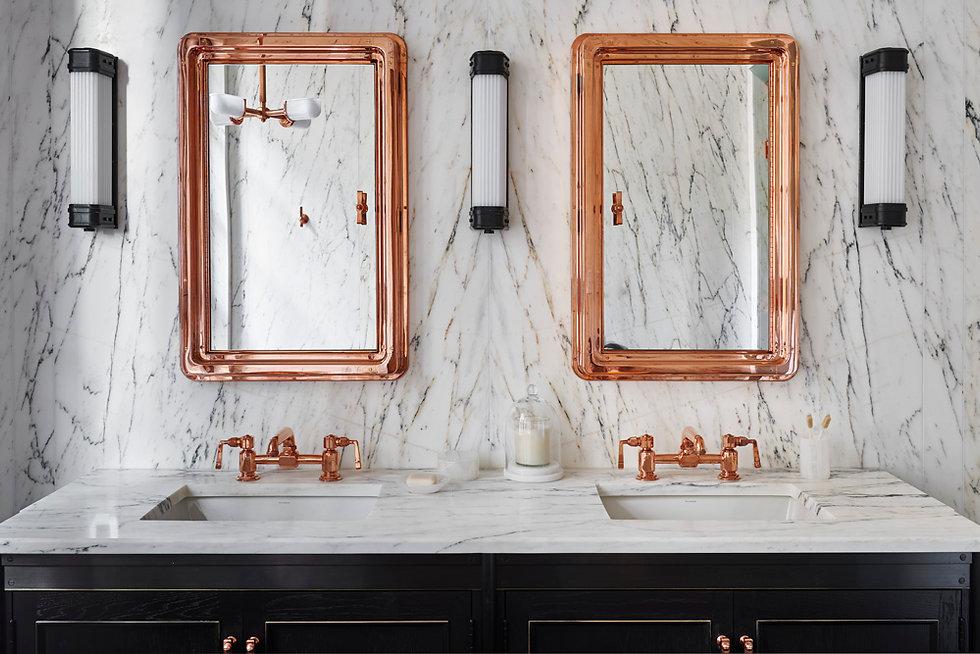 2 - FItzroy master bath vanity, by Adria