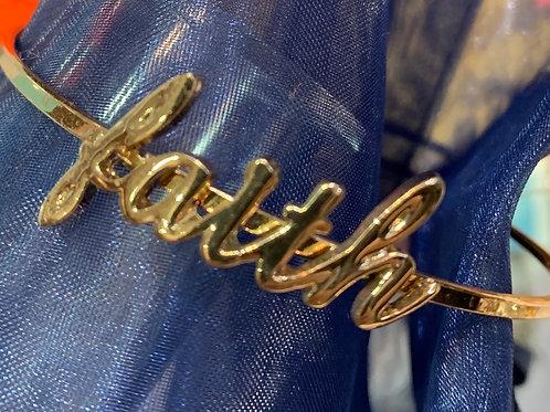 Adjustable Gold Coloured Bracelet
