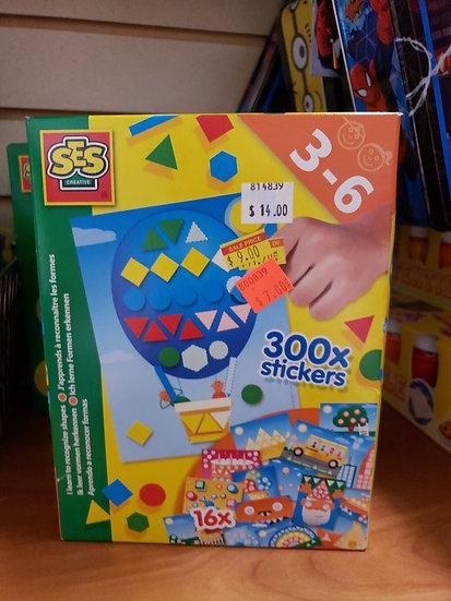300x Stickers