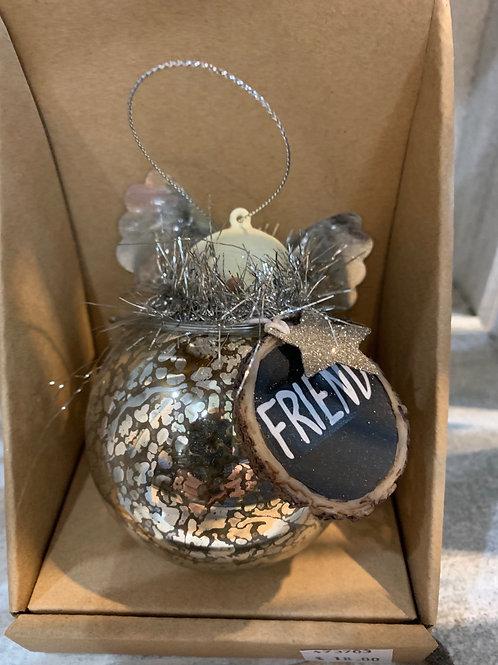 Friend Angel Tree Ornament