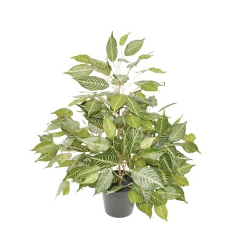 "20"" x 5"" x 5"" Fake Potted Ficus Plant"