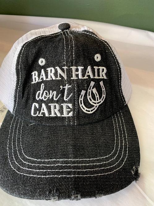 Ball Cap- Barn Hair Don't Care