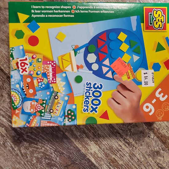 I Learn to Recognize Shapes -  -SES Creative Toy
