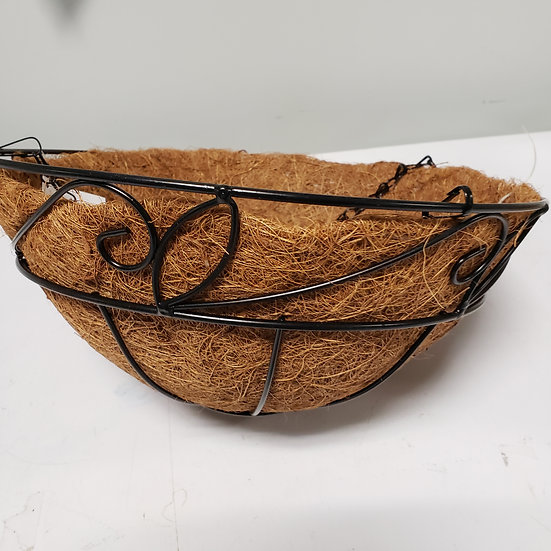 Hanging Wire Basket with Liner