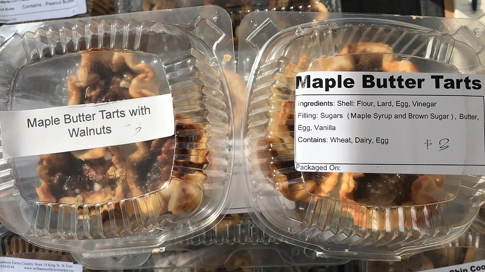 WFCS - Maple Butter Tarts (3)