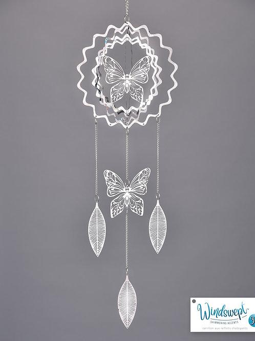 """3D Butterfly 19.6"""" Windchime"""