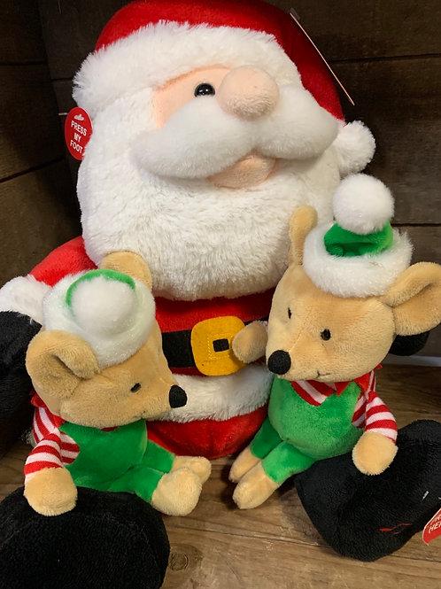 Cuddle Barn Santa