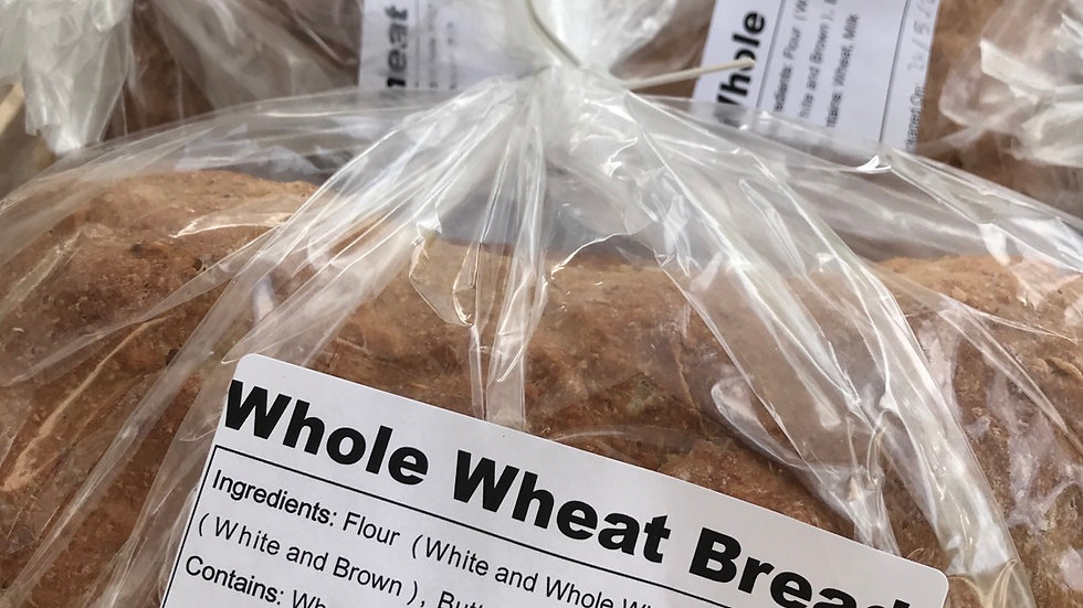 WFCS - Whole Wheat Bread -Special order Only