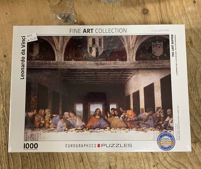 The Last Supper 1000pc Eurographic
