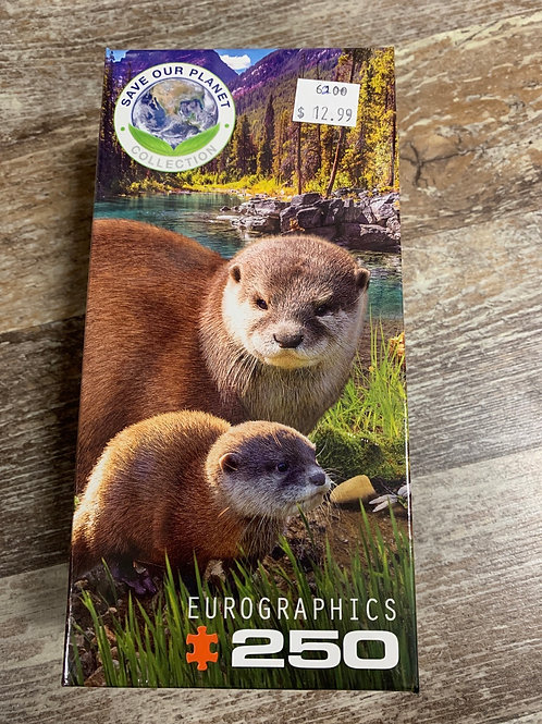 Otters - 250 pc Puzzle